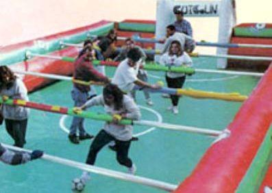 Calcio Balilla Umano