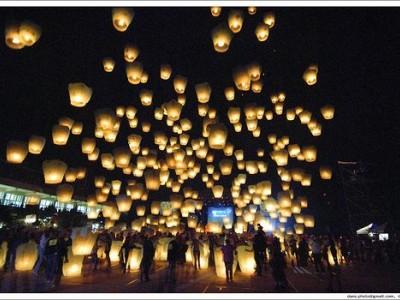 Lancio delle Lanterne Cinesi