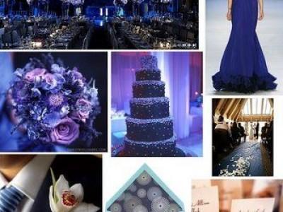 Matrimonio Blu...l'eleganza